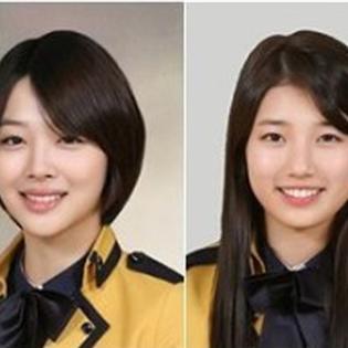 Thích thú trước loạt ảnh tốt nghiệp  xinh vô đối  của thần tượng Kpop