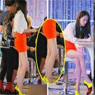 Chiêm ngưỡng những đôi chân  tiền tỷ  của mỹ nhân Kpop
