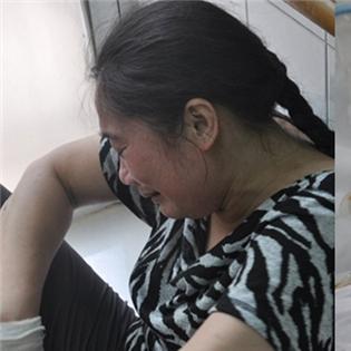 Mẹ chở đi vay tiền chữa trị cho bố, bé 3 tuổi bị tai nạn thảm khốc