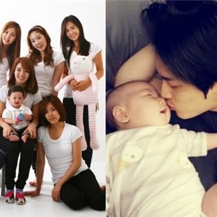 Thích thú với loạt ảnh  yêu trẻ  của thần tượng Hàn