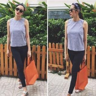 Hà Tăng xuất hiện thon gọn sau sinh, Quang Vinh khoe con gái mới sinh