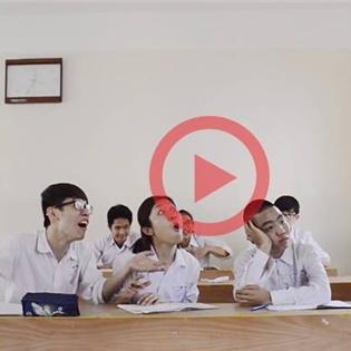 Cư dân mạng thích thú với MV tự làm của học sinh Hải Phòng