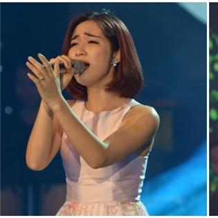 Hòa Minzy và Emily  khoe sắc đọ giọng  tại Bài hát yêu thích