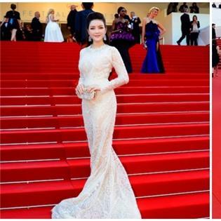 Lý Nhã Kỳ liên tiếp ghi điểm trên thảm đỏ Cannes