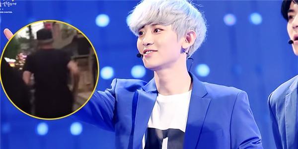 """Chanyeol (EXO) phải """"chạy trốn"""" vì bị fan cuồng đeo bám"""