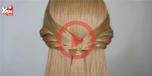 Tạo hình  đôi cánh thiên thần  tuyệt đẹp trên mái tóc xinh nào!