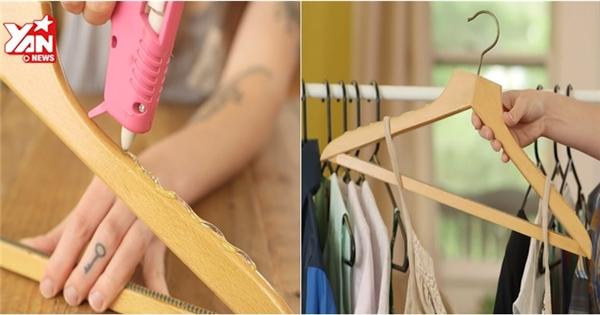 2 bước đơn giản giúp phơi quần áo không rơi khỏi móc