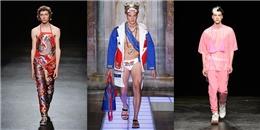 Trố mắt với những trang phục kì dị của người mẫu nam trên sàn catwalk