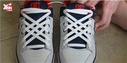 Lạ mắt với cách thắt dây giày kiểu mới