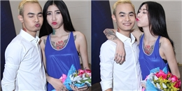 Ngọc Việt khoe bạn gái là 'công chúa tattoo' cá tính