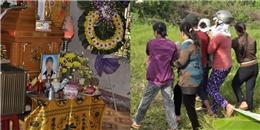 Đẫm nước mắt buổi chôn cất nữ sinh bị bạn trai tung clip 'nóng' lên mạng