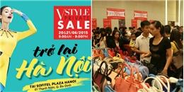 'Đại tiệc giảm giá hàng hiệu' đang tưng bừng tại Hà Nội, bạn đã sẵn sàng?