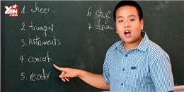 Hé lộ bí quyết giúp Đỗ Nhật Nam 'nói tiếng Anh như gió'