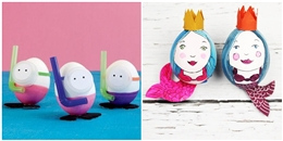 """'Rụng rời' với những kiểu """"biến hình"""" cực dễ thương của vỏ trứng"""