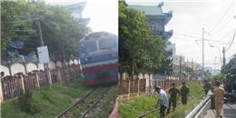 Bất ngờ lao vào tàu hỏa, người đàn ông tử vong tại chỗ