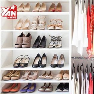 Tận dụng tối đa không gian tủ quần áo, dễ như trở bàn tay