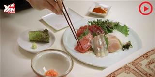 Bạn ăn sashimi đã đúng cách chưa?