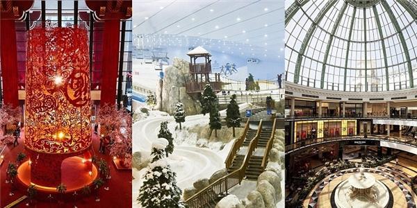 Thèm thuồng những trung tâm mua sắm hấp dẫn hơn cả khu vui chơi