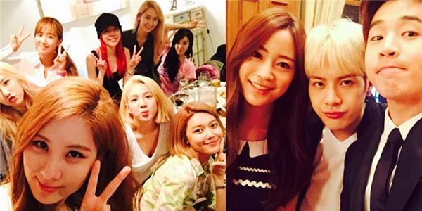 SNSD tưng bừng mừng sinh nhật Seohyun, Henry thân thiết bên Jackson và Youngji