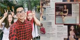 JV khoe ảnh chụp cùng  mỹ nhân , Jun Vũ tiếp tục lên báo Thái Lan