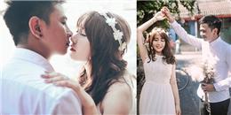 Tan chảy trước bộ ảnh cưới ý nghĩa của cặp đôi 'yêu không bình thường'
