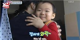 Độc đáo với cách dạy con của  ông bố quốc dân  Hàn Quốc