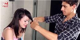 Khi các chàng 'ra tay' cắt tóc cho người yêu