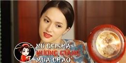 Hương Giang Idol hóa 'geisha múa chảo'