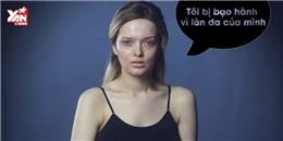 Rơi nước mắt với clip cô gái bị  bạo hành  vì trang điểm