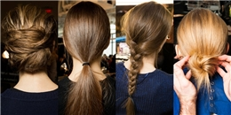 """10 kiểu tóc """"nhanh - gọn - lẹ"""" cực đơn giản cho ngày hè"""