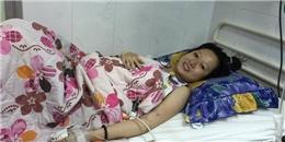 Rớt nước mắt trước khoảnh khắc hạnh phúc của người mẹ trẻ bị ung thư