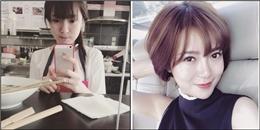 Ngây ngất trước hình ảnh hot girl Tú Linh bán bún