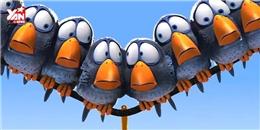 Hài hước với phim ngắn châm biếm thói nhiều chuyện quá dễ thương của Pixar