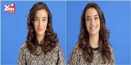 3 phút có ngay 3 kiểu tóc xoăn cực dễ làm tại nhà