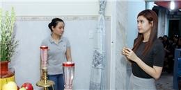 Trương Quỳnh Anh lặng người đến tiễn biệt MC Quang Minh
