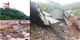 Cảnh tan hoang sau trận lũ quét bất ngờ ở Sơn La