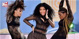 Xóa tan bất hòa với Taylor, Nicki Minaj tiếp tục  đốt mắt  khán giả
