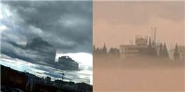 """Sốc với hình ảnh """"thành phố ma"""" liên tục xuất hiện trên bầu trời"""
