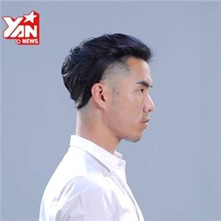 Điển trai hơn với những kiểu tóc siêu ấn tượng