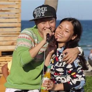 Thanh Duy bất ngờ nói  lời yêu thương cùng 3 fan nữ