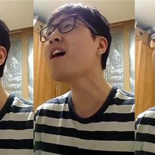 Thêm một chàng trai Hàn Quốc đáng yêu cover  Yêu Lại Từ Đầu