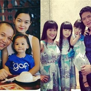 Cuộc sống hạnh phúc, giản dị đáng mơ ước của gia đình sao Việt (P2)