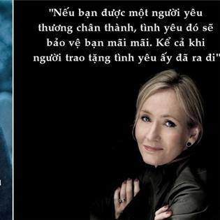 Những câu nói đáng nhớ của  mẹ đẻ  Harry Potter