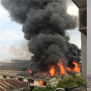 Nguy hiểm: Đang cháy nổ cực lớn tại Hà Nội