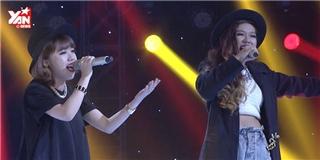 Màn đối đầu ấn tượng của  cô bé trốn trong tủ hát  cùng stylist cá tính Quỳnh Như