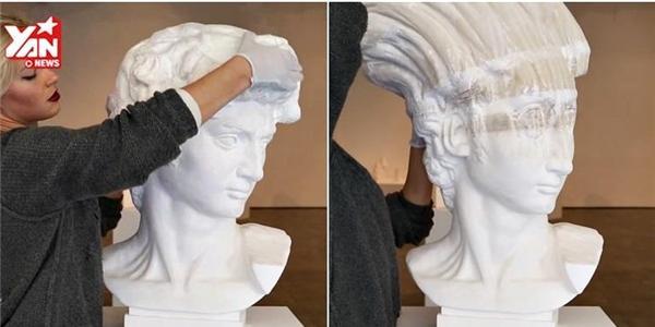 """Những bức tượng giấy """"hư cấu"""" đến mức khó tin"""