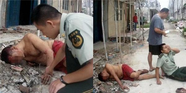 Cảm phục hành động lấy thân cứu người của viên cảnh sát