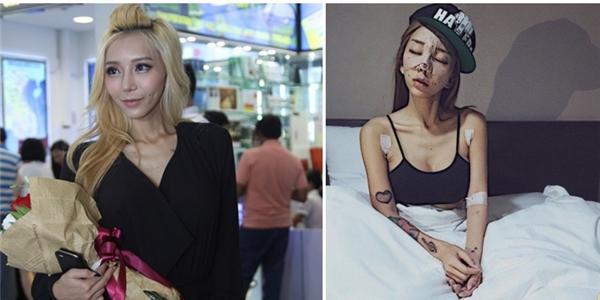 Giật mình nhan sắc thật của nữ DJ gợi cảm số 1 Malaysia sau khi  dao kéo