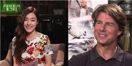 Tiffany được Tom Cruise hết lời khen ngợi