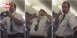 Cười đau bụng với tiếp viên hàng không  bá đạo  nhất quả đất